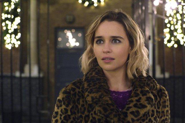 Uma Segunda Chance para Amar (2019), com Emilia Clarke e Emma Thompson<!-- NICAID(14343692) -->