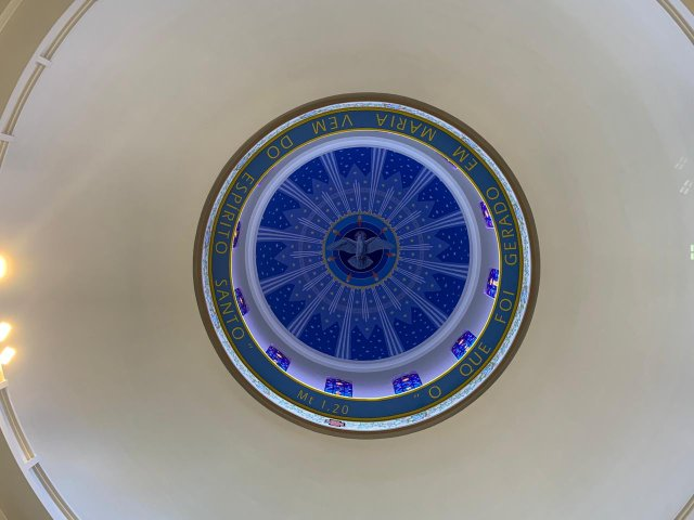 Cúpula do Santuário de Caravaggio 23.05.2020