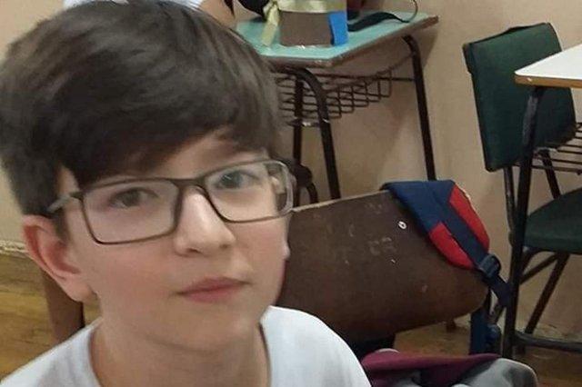 Rafael Mateus Winques, 11 anos, está desaparecido em Planalto, no norte do Rio Grande do Sul.