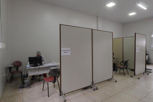 GARIBALDI, RS, BRASIL, 24/05/2020 - Garibaldi testou cerca de 20% da população, e por essa razão, teve aumento significativo de casos confirmados de covid 19. (Marcelo Casagrande/Agência RBS)<!-- NICAID(14507030) -->