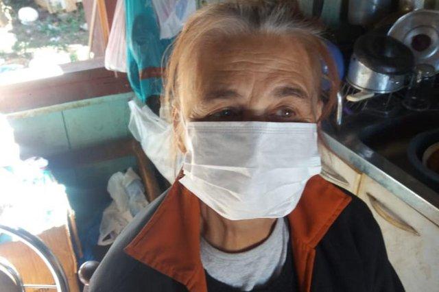 Iolanda Moreira de Sá, 75 anos, é uma das vítimas da covid-19. Ela morava em Vacaria e morreu no dia 7 de maio.<!-- NICAID(14511292) -->