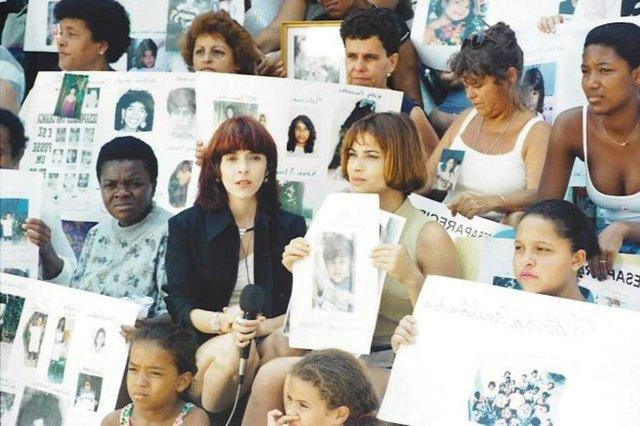 Odaísa (Isadora Ribeiro) em Explode Coração, campanha para encontrar crianças desaparecidas <!-- NICAID(14530743) -->