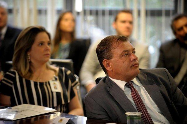 CAXIAS DO SUL, RS, BRASIL, 14/03/2019Coletiva de dois anos como prefeito de Caxias do Sul de Daniel Guerra. (Lucas Amorelli/ Agência RBS)<!-- NICAID(13995898) -->