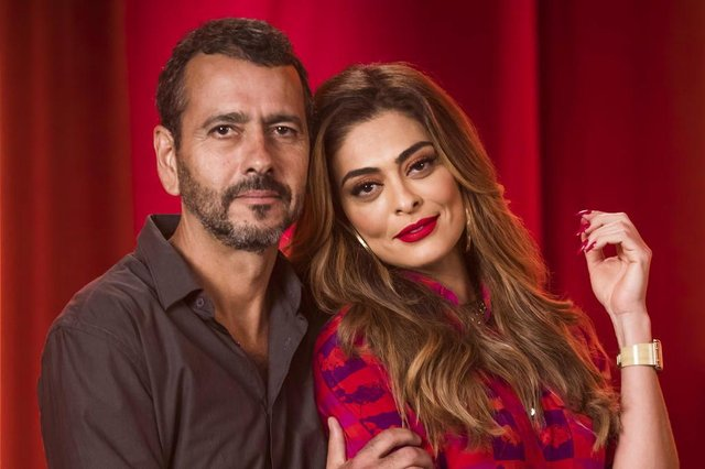 Amadeu ( Marcos Palmeira ) e Maria Da Paz ( Juliana Paes ), a dona do pedaço