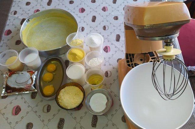receita do leitor , bolo de milho , eva araujo , esteio, receita tradicional<!-- NICAID(14549294) -->