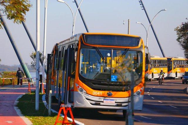 PORTO ALEGRE, RS, BRASIL, 06/08/2020- Novos ônibus da companhia Carris Porto Alegrense. Foto: Lauro Alves / Agencia RBS.