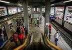 Escada rolante da estação Mathias Velho segue desligada (Agencia RBS/Marco Favero)