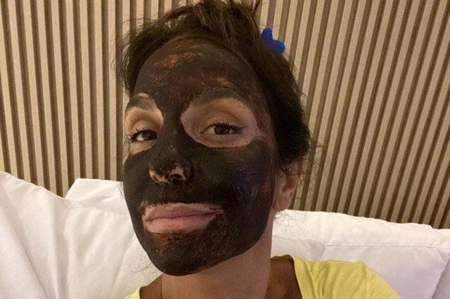 Ivete Sangalo, máscara, skin care
