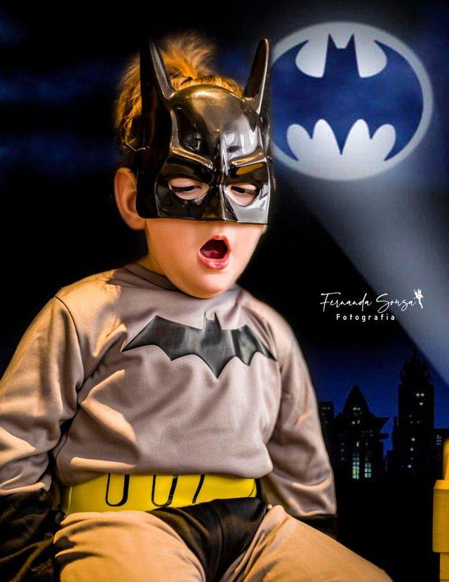 Projeto Fotografando Anjos, da fotógrafa Fernanda Sousa, de Farroupilha, registra crianças com alguma deficiência vestidos com roupas de superheróis, heroínas ou personagens encantados. Na foto, Rafael Maicá Ferreira França, de 2 anos.<!-- NICAID(14586253) -->