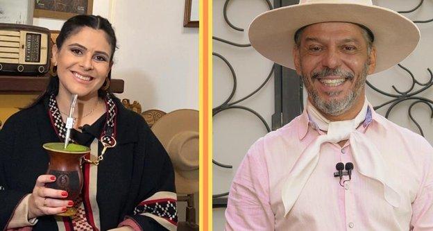 Shana Müller e Neto Fagundes farão a narração da Revolução Farroupilha (Divulgação/RBS TV)