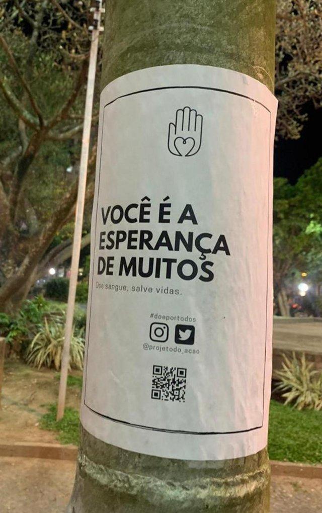 O projeto Do.Ação está ganhando visibilidade nas redes sociais e pelas ruas da cidade<!-- NICAID(14606619) -->