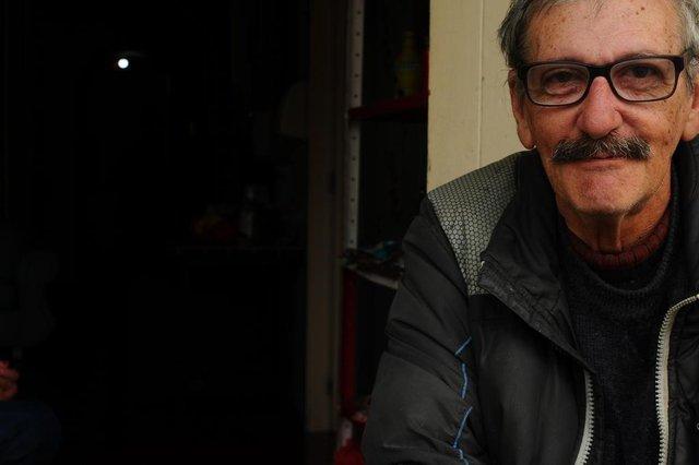 CAXIAS DO SUL, RS, BRASIL (01/10/2020)Idosos que vivem em asilos de Caxias contam como encaram a saudades em meio à pandemia. Na foto, José Ruy Pinheiro Costa, 70 anos. (Antonio Valiente/Agência RBS)<!-- NICAID(14606257) -->