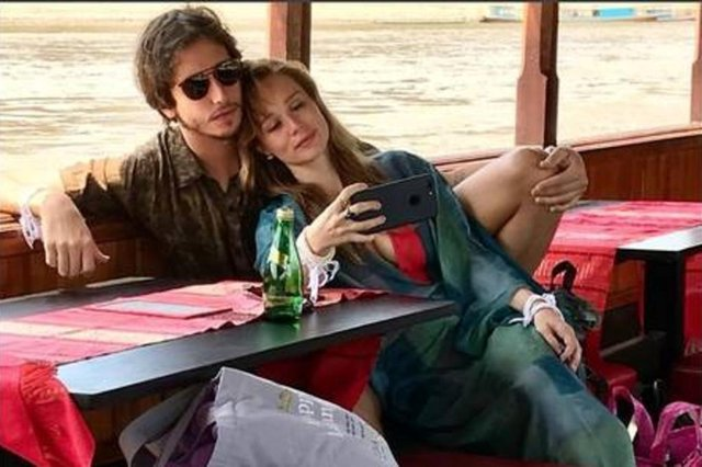 Mariana Ximenes e Felipe Fernandes