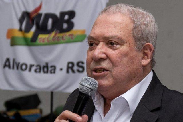 Appolo, candidato do MDB a prefeito na cidade de Alvorada