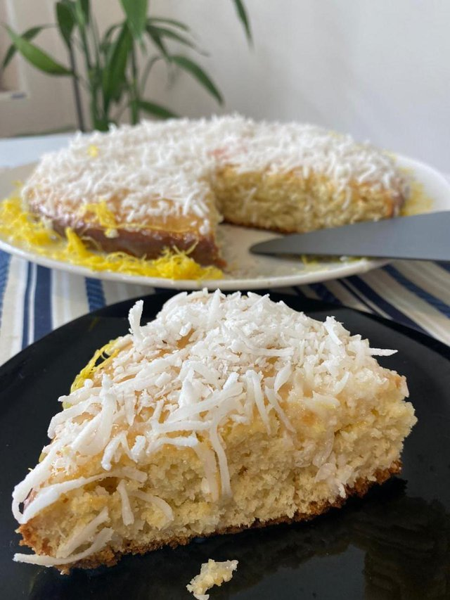 Receita do Leitor, Mariane Araújo, teste do kit, tropicalíssimo, bolo de coco cremoso<!-- NICAID(14642019) -->