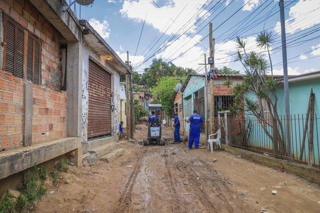 PORTO ALEGRE, RS, BRASIL, 17/11/2020- Moradores da Vila Mato Sampaio aguardam regularização. Foto: Isadora Neumann /  Agencia RBSIndexador: ISADORA NEUMANN