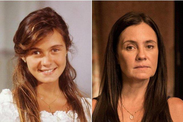 Adriana Esteves nas novelas Top Model (e) e Amor de Mãe<!-- NICAID(14649270) -->