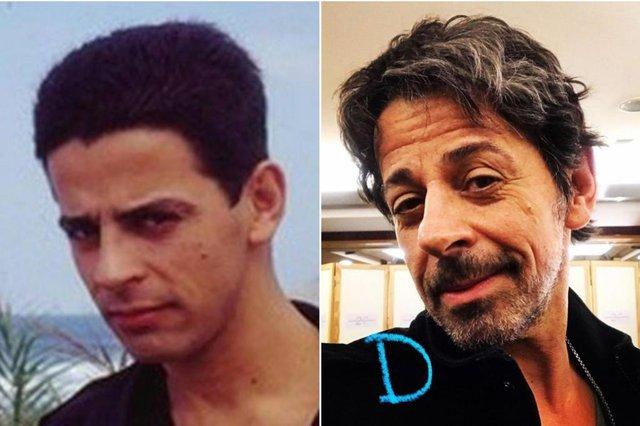 O ator Taumaturgo Ferreira em Top Model e atualmente<!-- NICAID(14649714) -->