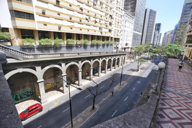 PORTO ALEGRE, RS, BRASIL - 25.11.2020 - Propostas para os bairros de Porto Alegre. Na imagem, Centro Histórico.
