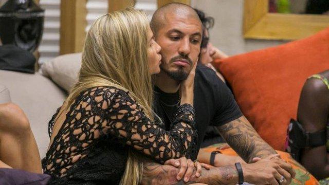 Aline e Fernando, do BBB 15