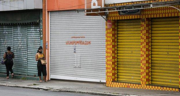 Desde o último sábado (27), comércio não essencial está com as portas fechadas (Agencia RBS/Mateus Bruxel / Agencia RBS)