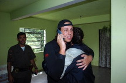 Em 2010, dois escaladores ficaram dois dias desaparecidos após incidente em Barra do Ouro (Tadeu Vilani)
