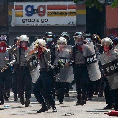 Manifestantes morrem em protestos em Mianmar