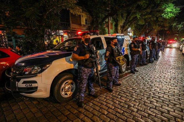 Porto Alegre, RS - 13/02/2021: Operação de fiscalização para evitar aglomerações e festas no carnaval. Foto: Giulian Serafim/PMPA<!-- NICAID(14714203) -->
