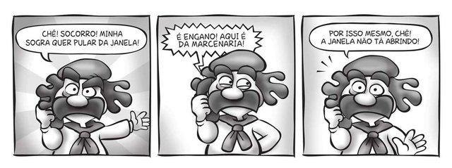 tirinha, guri de uruguaiana, coluna de 4 e 5 de setembro de 2021<!-- NICAID(14880313) -->