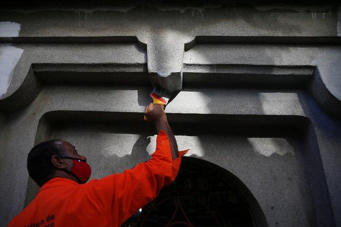 Reforma do monumento é uma das obras prioritárias do governo de Sebastião Melo