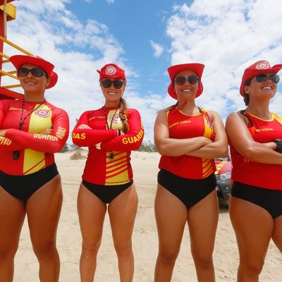 Pela primeira vez na história do litoral gaúcho, guarita é comandada somente por guarda-vidas mulheres