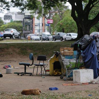 Aumenta quase 40% número de moradores de rua em Porto Alegre