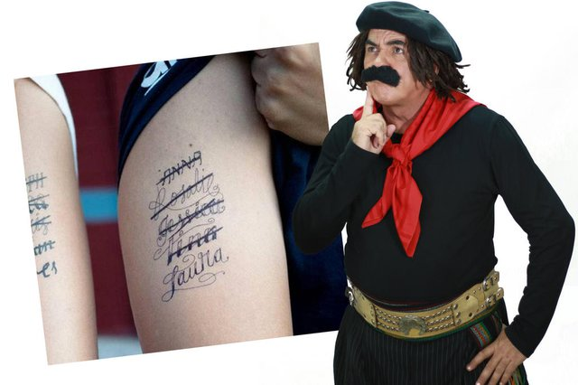coluna , guri de uruguaiana ,tatuagem<!-- NICAID(13707449) -->
