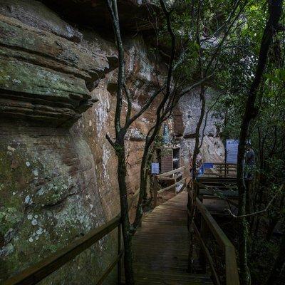 Fé e fôlego: conheça a trilha que leva a santuário em Mampituba