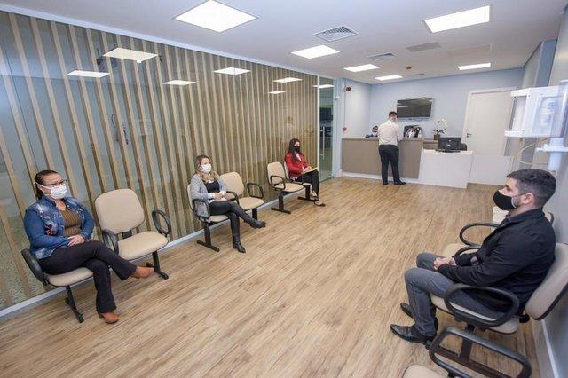 Ambulatório Pós-Covid do Hospital São Lucas da PUCRS, em Porto Alegre.<!-- NICAID(14761360) -->