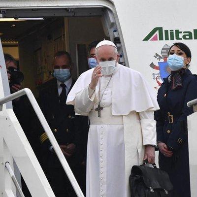 Papa começa viagem histórica ao Iraque