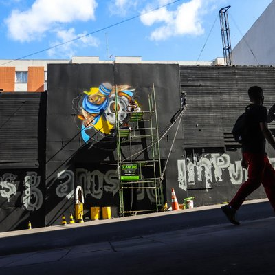 Boate Kiss ganha novo mural para marcar oito anos da tragédia