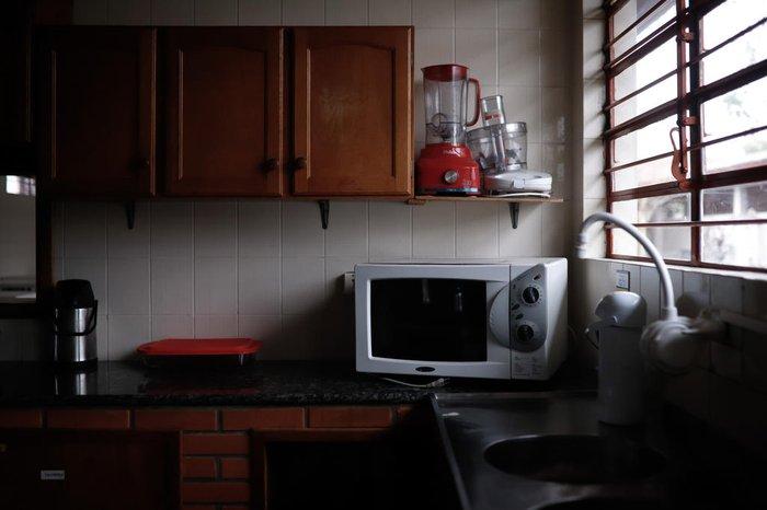 Escola Estadual de Ensino Fundamental Portão Velho, em Portão, convive com a falta de energia