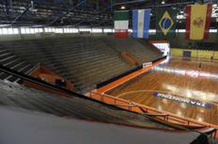 070d9eff87ad0 Centro Municipal Sérgio Luiz Guerra está preparado para receber os  jogosJuan Barbosa   Agencia RBS