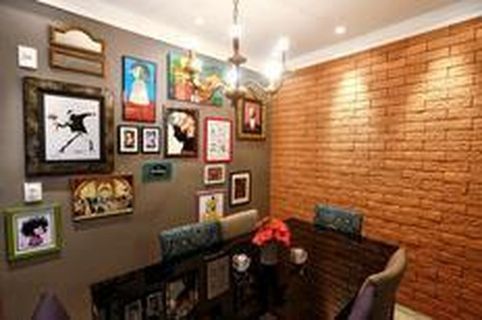 Placa de pl stico que imita tijolo op o r pida e limpa - Abbattimento muro interno senza dia ...