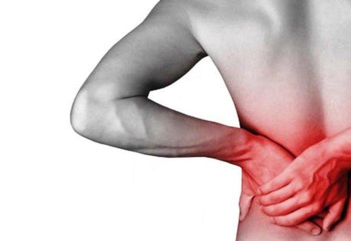 dor lombar lado direito dolorido ao toque