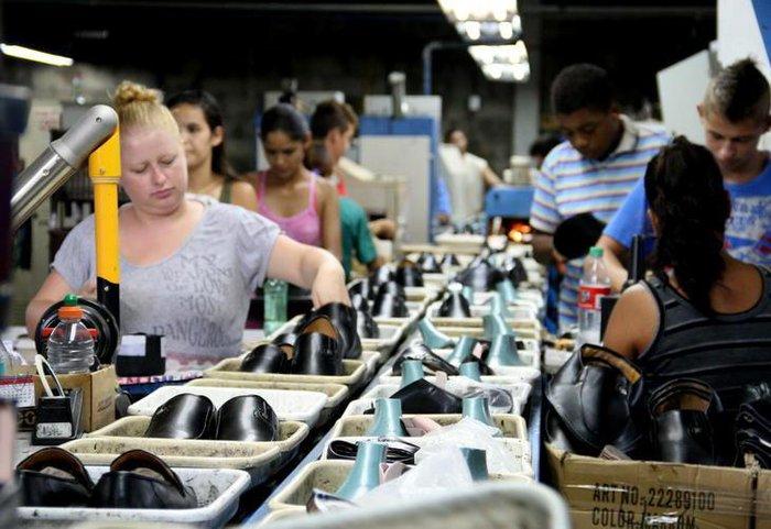 c139073f9 Atividade emprega cerca de mil pessoas em 20 indústrias localizadas em  diversos municípios Charles Dias / Especial