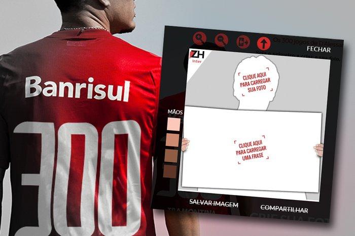 8485bba103c64 D Ale completa 300 jogos pelo Inter  compartilhe sua homenagem ao ...