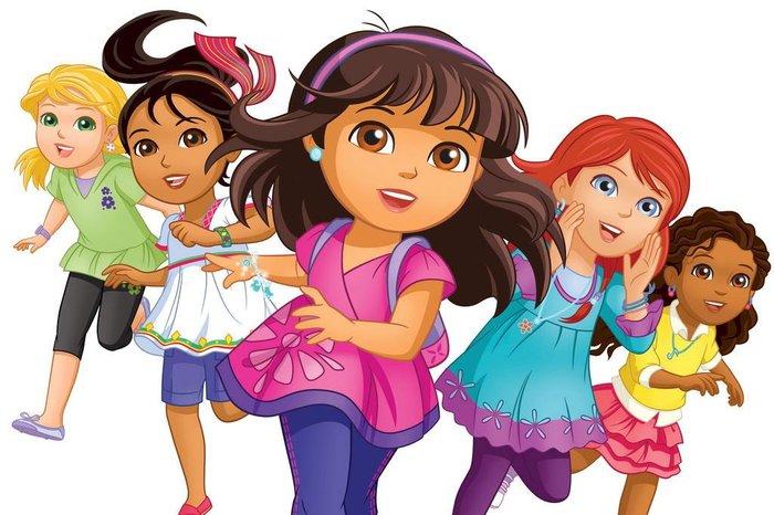 Desenho Dora E Seus Amigos Na Cidade Estreia Nesta Segunda