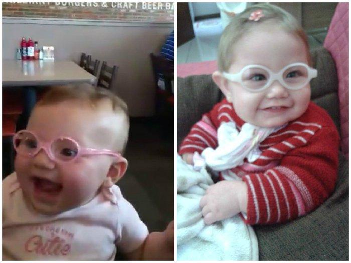 Bebês também usam óculos  aprenda a identificar sinais e sintomas ... 2d0ce13b8e
