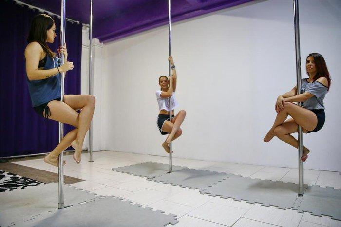 3d1a67ece8977 VÍDEO: pole dance, um exercício de força e sensualidade   GaúchaZH