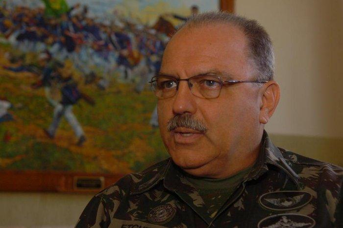 CRÉDITO: Claudio Vaz, Agência RBS, 03/02/2011  Novo general da 3ª Divisão do Exército, Sérgio Westphalen Etchegoyen