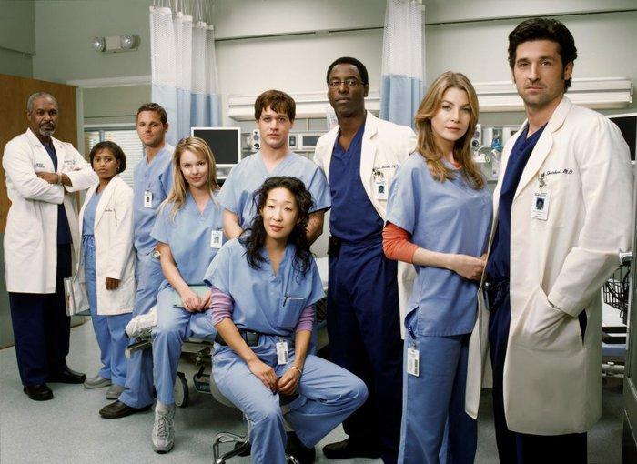 """Resultado de imagem para """"Grey's Anatomy"""" gravações"""