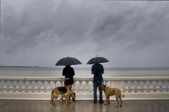 Hurricane Irma hits the Caribbean and Florida