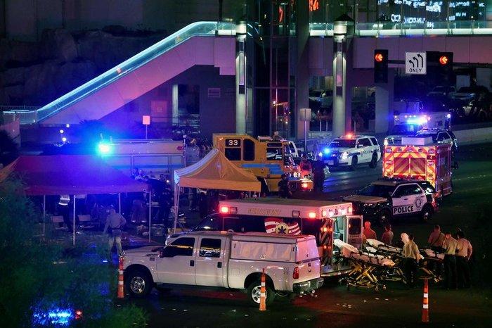 Resultado de imagem para Sobe para 50 número de mortos em ataque em Las Vegas cnn